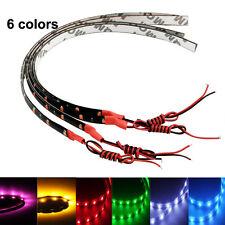 Flexible LED Strip HighPower 12V 30cm 15SMD Car LED Daytime Running Light Red