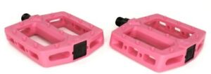 GT PC Logo BMX Bike Pedals Pink