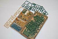 1/72 Lotto Miniature WWII Tedeschi US Russi Britannici Parà & Camion (D)