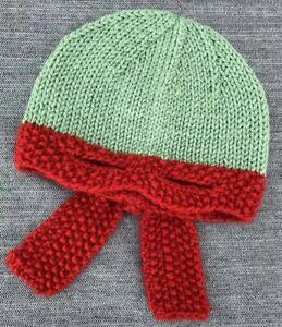 Teenage Mutant Ninja Turtle Raphael Red Green Handmade Girl Boy Kids Hat Costume