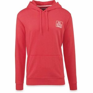 New Dakine Men's Classic Pullover Hoodie Large Indie Red