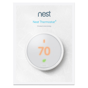 Google Nest Thermostat E - White (T4000ES) (A0063) no packaging