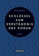 Schlussel Zum Verstandnis des Koran by Kerem Ad Guzel (2015, Paperback)