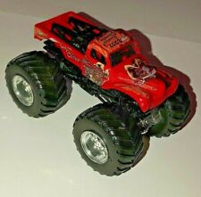 Hot Wheels Monster Jam Truck Red CAPTAINS CURSE 1:64 Scale Diecast Lot
