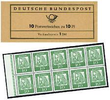 "BRD Bund Markenheft Nr. 7aI ""Dürer 1961"""