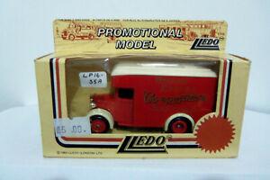 LLEDO PROMOTIONAL MODEL 1934 Dennis Parcels Van LP16-055A Brighton Co-operative