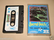 SACRED REICH - The American Way - MC Cassette un/official polish tape