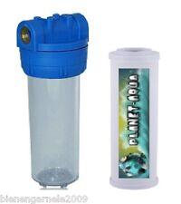 """Filtergehäuse 10"""" x 1/2 + Keramikfilter Vor Filter Wasser Hauswasserwerk Brunnen"""
