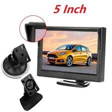 5'' HD 800*480  Car Rear View Reverse TFT-LCD Monitor 2 CH AV-In For Camera