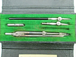 Vintage Hago Number 200 Small Drafting Set Made in Germany MISSING ONE PIECE