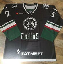 KHL hockey jersey AK BARS kazan size L NHL trikot eishockey alternative OIL