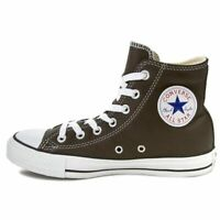 SCARPE SNEAKERS UOMO DONNA CONVERSE ALL STAR CT HI 144666C PINENEEDLE PELLE