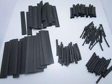 Kit 127 pezzi Guaine termorestringente nera guaina termoretraibile saldature pcb