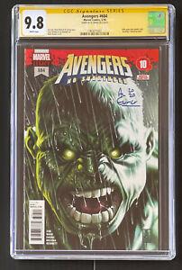 CGC SS 9.8 AL EWING Avengers # 684 First Appearance Of Immortal Hulk Mark Brooks