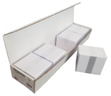500 PVC BLANK WHITE PLASTIC ID CARDS 30mil credit Card Size