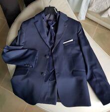 vestito elegante 10 anni taglia 38 nazzareno gabrielli blu