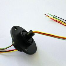 12 Circuits Wires 22mm Capsule Slip Ring 2A AC240V Conductors Test Equipment New