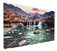 Fairy pools, Isle of Skye. Print or canvas print