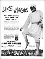 1947 Alan Hale actor Sinclair opaline motor oil vintage photo print Ad (adl30)