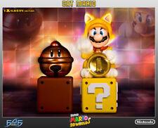 First4Figures Super Mario Cat Mario Statue Exclusive Ed.