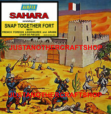 Airfix Ho-oo 1684 1st Issue Fort Sahara Arabs Legion Poster Sign Advert Artwork