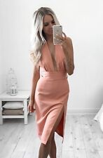 APRICOT COCKTAIL DRESS