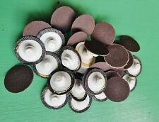 30 Disc Lot 3m Roloc Abrasive Sanding Die Grinder Discs 1 120 Grit 11414