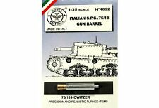 Model Victoria 1/35 75/18 Gun Barrel for Italian Semovente 75/18 Howitzer 4092