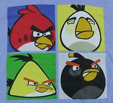 Angry Birds Medium T-shirt Blue Soft USA Fabric SHIPS FREE