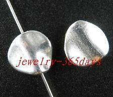 45pcs Tibetan Silver Smooth Donut Spacers 13x13x4mm zn24407