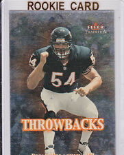 Brian URLACHER 2000 Fleer INSERT ROOKIE CARD Chicago Bears FOIL RC