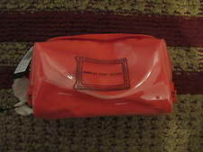 AUTH NEW MARC By MARC JACOBS WERDIE CLEAR COLIDS COSMETIC CASE CORAL