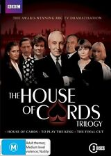 House Of Cards Trilogy (DVD, 2011, 3-Disc Set)