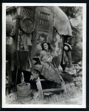 EARLY JOAN CRAWFORD AS A GYPSY - N MINT OVERSIZE DBLWT - 11X14 LARGE SILENT  SIL