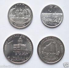 Paraguay coins set of 4 pieces NEW EDITION UNC