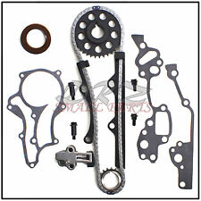 85-95 Toyota 2.4L 22R 22RE 22REC Pickup 4Runner Celica Timing Chain Gear Kit Set