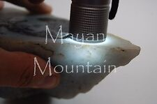 "MAYAN MOUNTAIN 1078 TRANSLUCENT ""BLUE LUNA"" GUATEMALAN JADEITE JADE ROUGH"