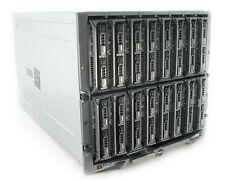 16 x Dell PowerEdge M620 blade Servers in M1000e 32 x 8-Core E5-2670 1024Gb Ram