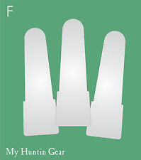 Item F - 3 Mylar Replacement Reeds Mallardtone Duck Calls by My Huntin Gear