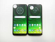 New listing Lot of 2 Motorola Moto G7 Power XT1955-5 Cricket Check IMEI Grade C 6-002