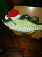 New listing Big Mouth Billy Bass - Sings for the Holidays (Christmas) w/Adapter (1999)