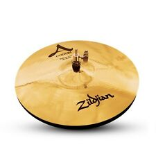 "HYSON MUSIC - MINT ZILDJIAN 14"" A CUSTOM HI-HATS PAIR HI HAT CYMBALS"