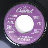 Rock 45 Little River Band - Middle Man / Cool Change On Capitol