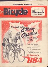 Vintage 36 page The Bicycle Christmas Number Vol 30 No 772 1950  (YT1)