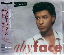 Babyface Tender Lover Japan CD w/obi new jack swing CSCS-5236