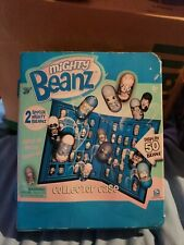 Mighty Beanz Collector Case Blue With 2 Special Beans New