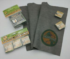 Lightload towel pack travel beach towels + Wild Sky Gear cuben fibre stuff sack