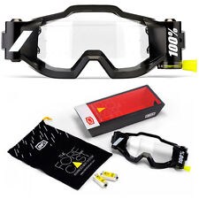 100% FORECAST MOTOCROSS ROLL OFF SYSTEM FOR RACECRAFT ACCURI & STRATA GOGGLES
