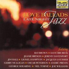 Love Ballads: Late Night Jazz by Various (CD, Jan-1999, Telarc) Promo CD