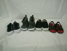 Lot of 4 Pairs of Baby Boy's Garanimals Shoes One Pair of Boots soft sole sz 2-3